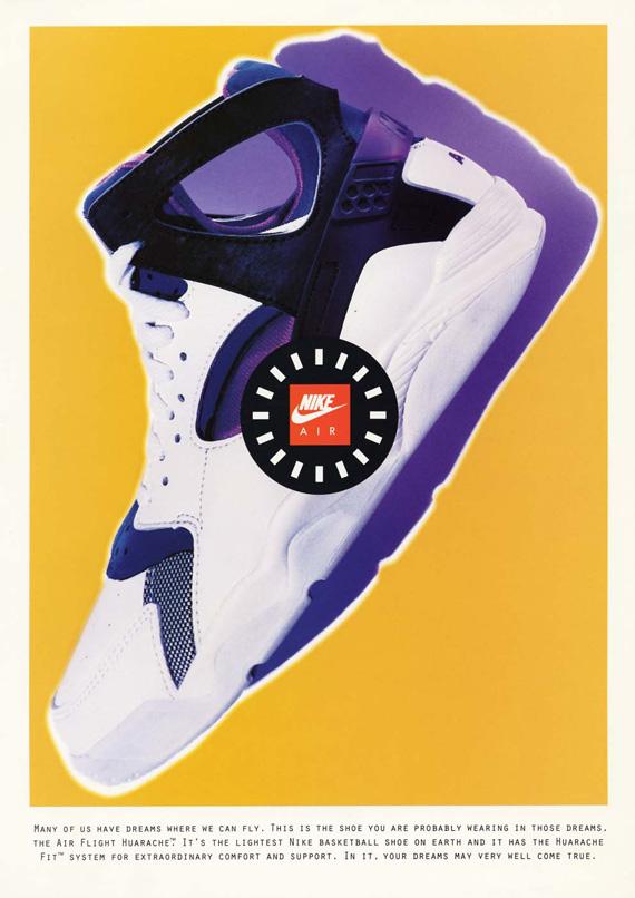 super popular 5037e 7bf7b 20 Years Of Nike Basketball Design: Air Flight Huarache (1992 ...