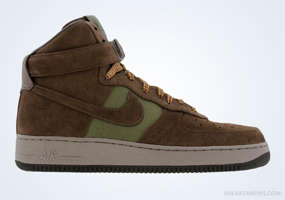 Bobbito Garcia x Nike Air Force 1 High quot Beef N Broccoliquot 2007