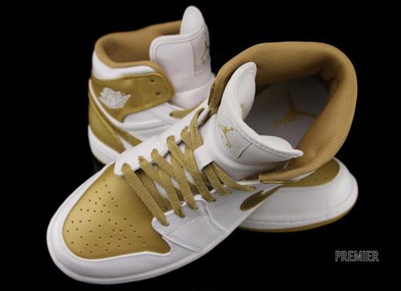 Air Jordan 1 Phat White Metallic Gold 364770-130 08 2012  105. show comments 35f3f385c