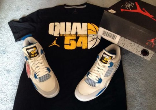 "Air Jordan IV ""Military"" – Quai 54 Edition"