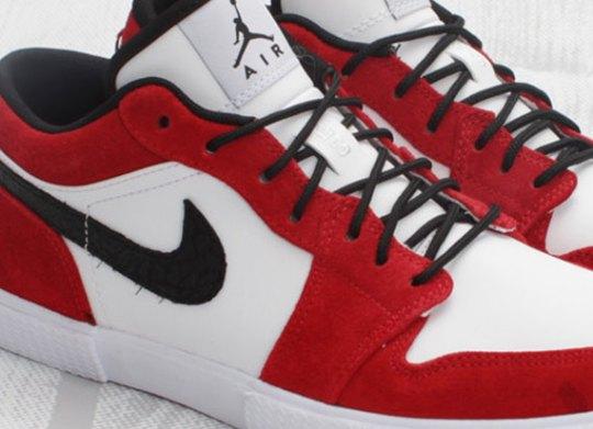 Air Jordan Retro V.1 – White – Black – Gym Red