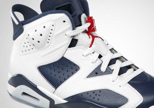 """Air Jordan VI """"Olympic"""" – Official Images"""