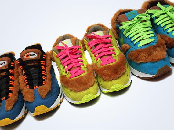 "Nike Air Max ""3 Bears"" Customs By Kik�� - SneakerNews.com"