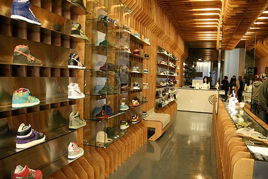 New York Sneaker Shoe Stores