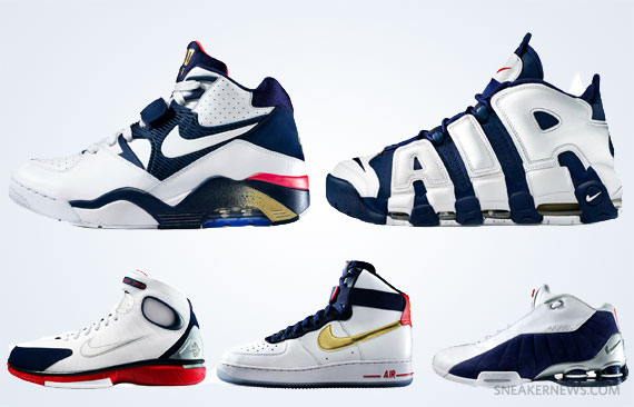Nike Air Force 180 'Olympic' - SneakerNews.com