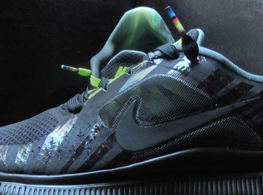 Hurley x Nike Free Run 3+ NRG