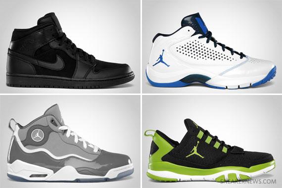Jordan Brand August 2012 Footwear