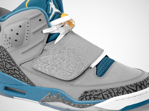 innovative design 07637 4a83d Jordan Son of Mars – Stealth – White – Shaded Blue – University Gold    Release Date
