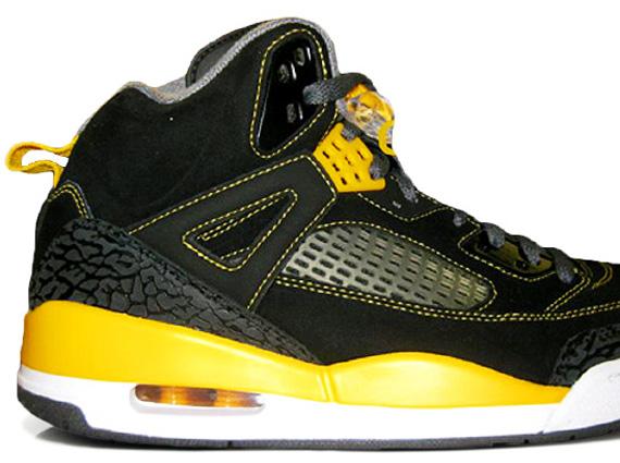 Air Jordan Spizike Black And Yellow