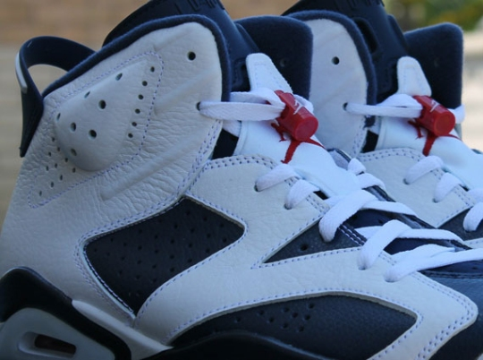 "Air Jordan VI ""Olympic"" – Release Reminder"