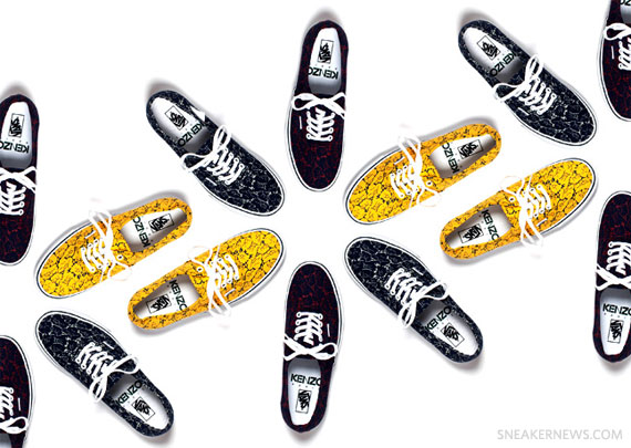 e4a1cae0b Kenzo x Vans Authentic Floral Collection - SneakerNews.com