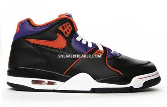 nike air flight 89 black purple