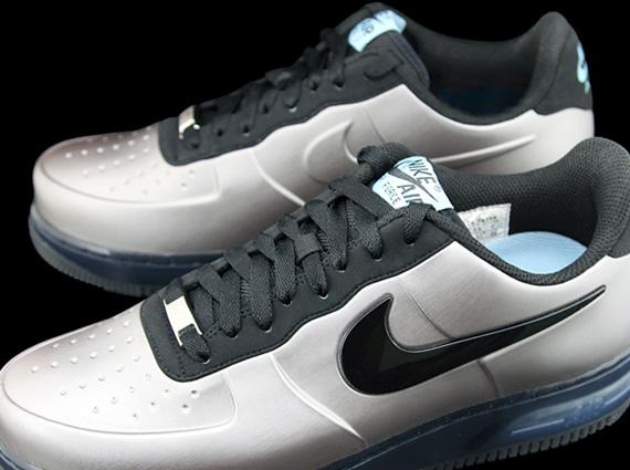Nike Air Force 1 High Foamposite Silver