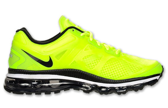 2012 Nike Air Max Yellow