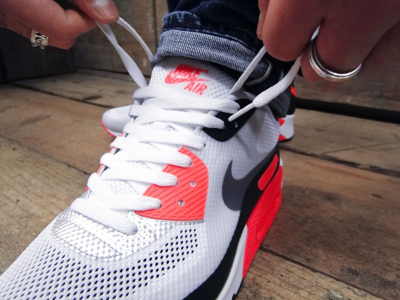 Details about Nike Air Max 90 Infrared Current QS