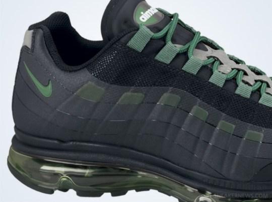 Nike Air Max 95 BB – Black – Pine Green – Dark Grey – Wolf Grey
