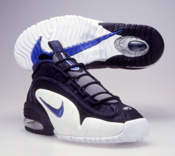 new style 5cb47 bb5ac 20 Years Of Nike Basketball Design  Air Max Penny (1995 ...
