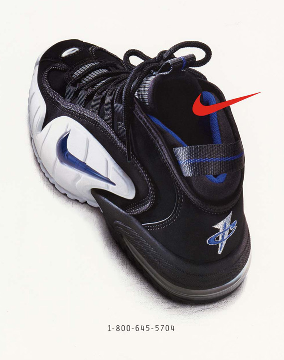 new style 17f35 ead43 20 Years Of Nike Basketball Design  Air Max Penny (1995 ...