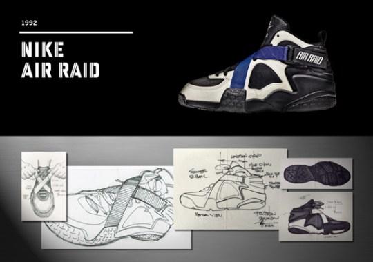 20 Years Of Nike Basketball Design: Air Raid (1992)