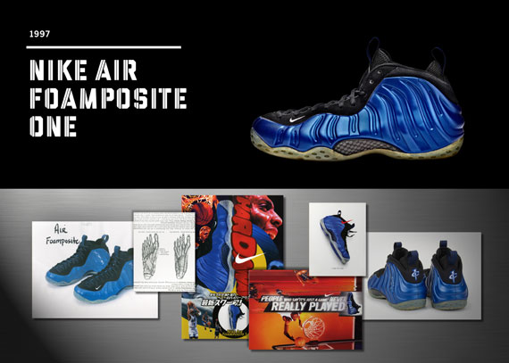 20 Years Of Nike Basketball Design: Air Foamposite One 1997