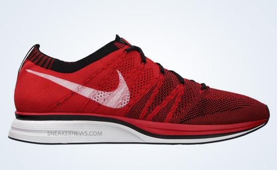 Nike Flyknit Red