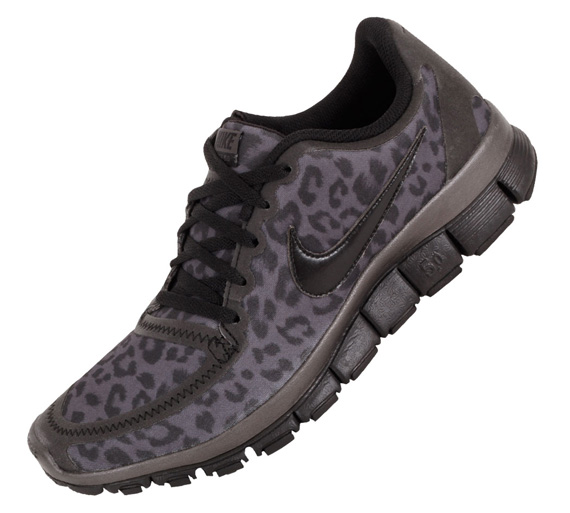 Details about Womens NIKE FREE 5.0 V4 Leopard Sneakers Shoes