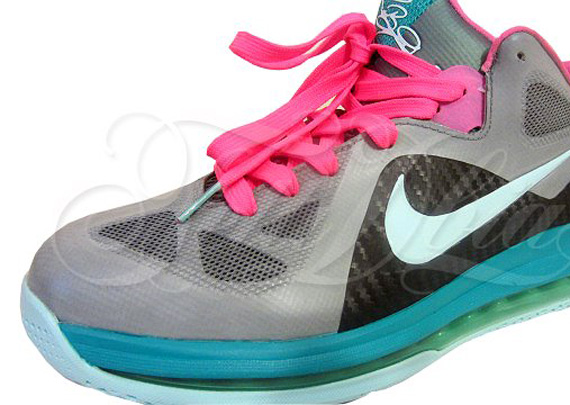 We've already seen an attempt at the LeBron 9 Low 'Miami Vice' custom ...
