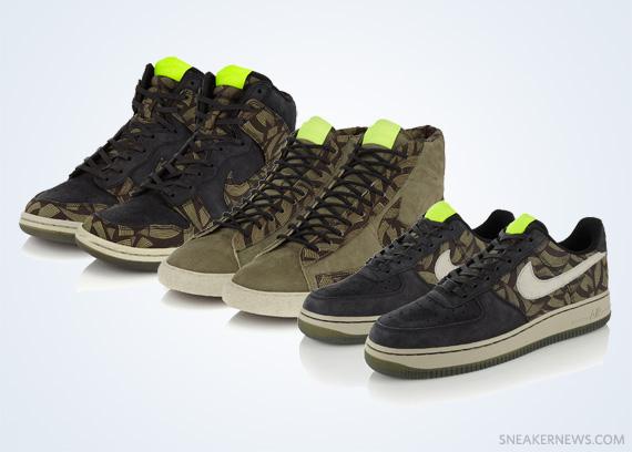 "Liberty x Nike Sportswear ""Lotus Jazz"" Collection"
