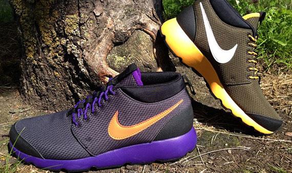 quality design b088f 807c6 Nike Roshe Run Trail – Fall 2012 Colorways