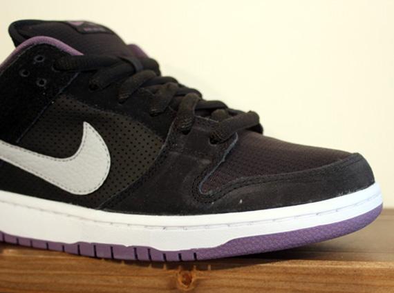 Nike SB Dunk Low Black Purple   Spring 2013
