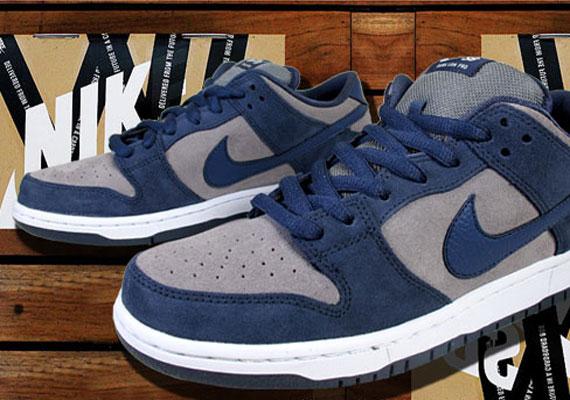 759f93536659 Nike SB Dunk Low - Thunder Blue - Cool Grey - SneakerNews.com