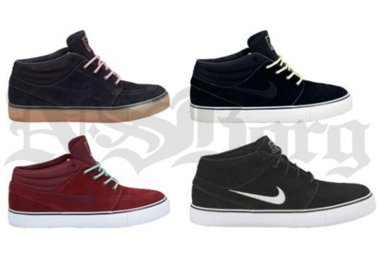 Nike SB Stefan Janoski Mid – Spring 2013 Preview