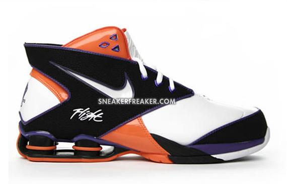 nike shox 2006 basketball white and black