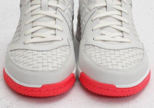 Nike5 Street Gato Woven QS – Summit White – Solar Red