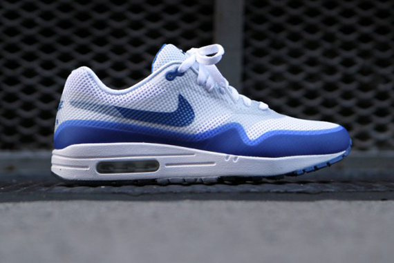 Air Max 1 Hyperfuse Bleu braderie 2014 plus récent MPEmc2