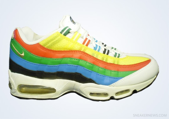 """Classics Revisited: Nike Air Max 95 """"Olympic"""" (2004)"""