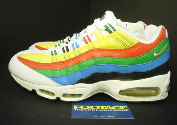nike air max 95 rainbow