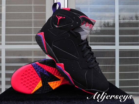 """Air Jordan 7 """"Raptors"""" - SneakerNews.com"""