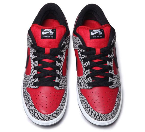 Suprema X Nike Sb Dunk Low 2012 Dodge kVWI5vZHa