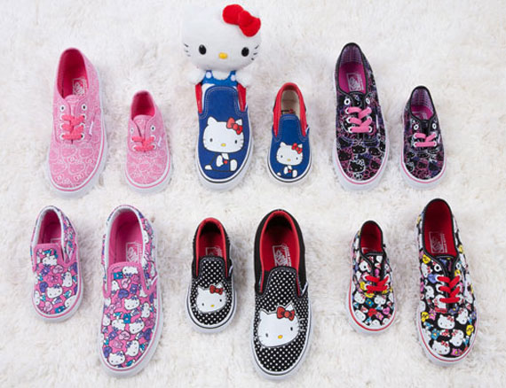 Hello Kitty x Vans - Available - SneakerNews.com c614c0608