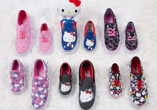 Hello Kitty x Vans – Available