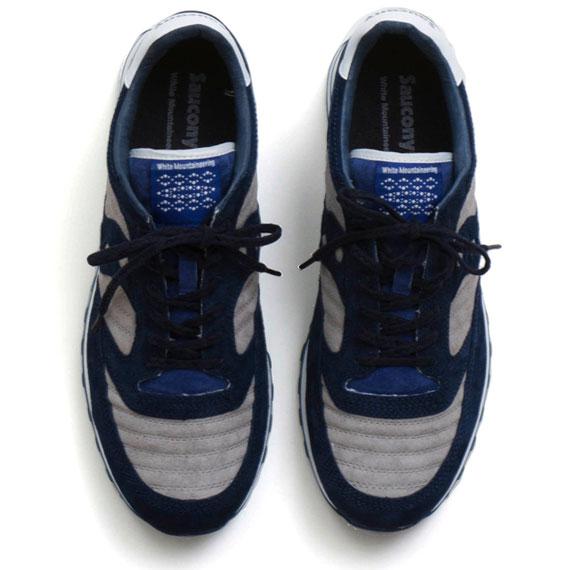 White Mountaineering x Saucony Jazz Original Sneakers