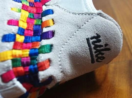 "Nike Footscape Woven Chukka Motion ""Rainbow"" – Beige – White"
