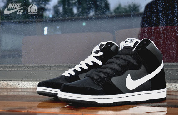 Nike Sb Dunk High Bianco Nero IKrncn7G8