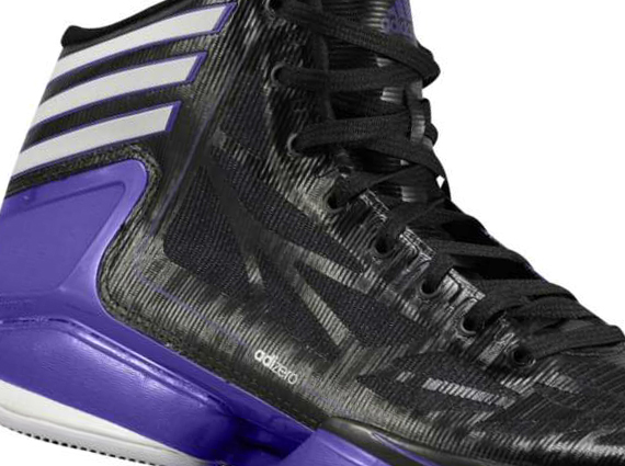Adidas adizero Crazy Light 2 negro blanco Regal Purple