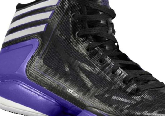 adidas adiZero Crazy Light 2 – Black – White – Regal Purple