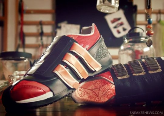 adidas Olympic 2012 Red Shoe Customs – Craig Green for David Beckham