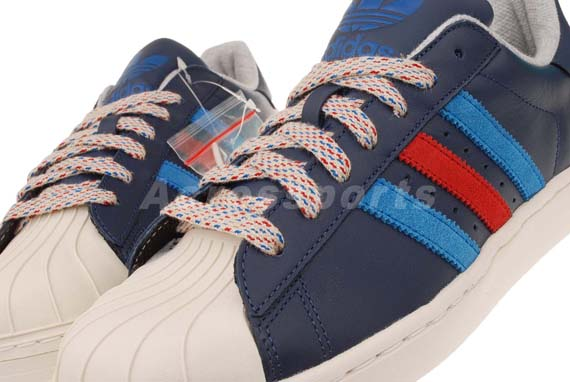 adidas Originals Superstar (White/Blue/Red) Sneaker Freaker