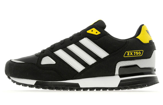 adidas zx 750 black yellow