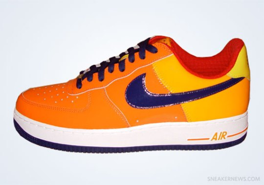 "Classics Revisited: Nike Air Force 1 Low ""Houston Astros"" (2006)"